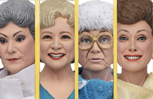 'Golden Girls' Action Figures On The Way - Towleroad Gay News