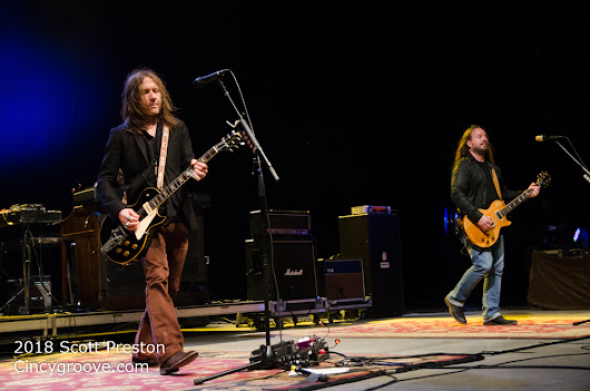 Photos – Blackberry Smoke, 8/10/18, Rose Music Center, Huber Heights, OH