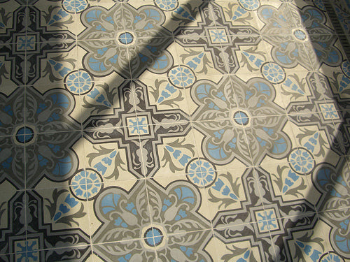 Cuban Heritage Cement Tile - Design CH110-2B