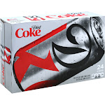 Diet Coke Soda - 24 pack, 12 fl oz cans