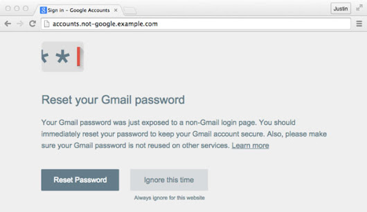 Chrome add-on stops scammers from getting your Google password