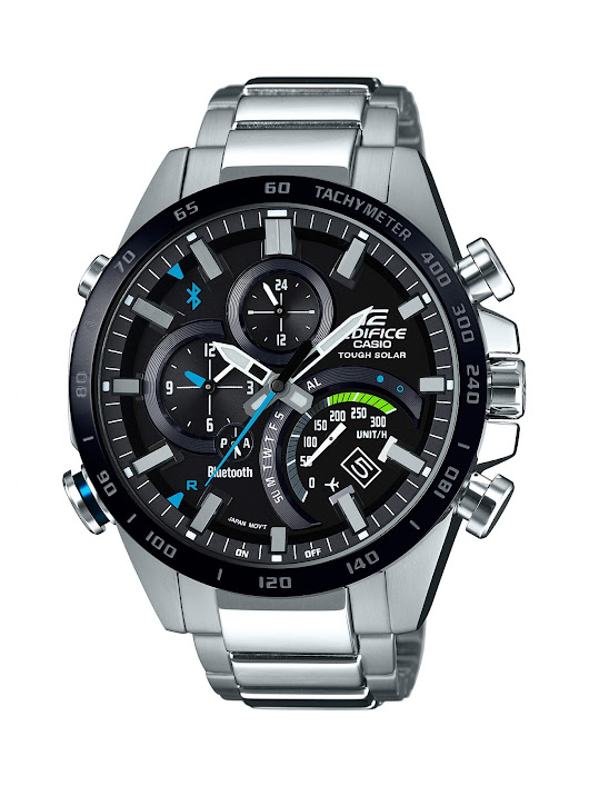 Casio's new Edifice line connects to your phone, your soul