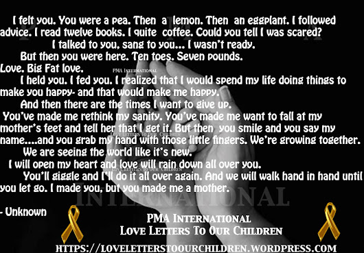 You Made Me A Mother/ Poetry and Picture Quote/ Love Letters To Our Children