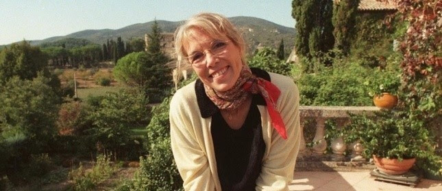 Catherine Camus, dans la maison de Lourmarin. (Sipa)