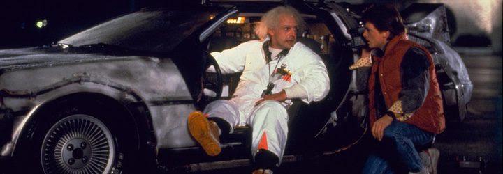 Marty McFly y Doc son los dos grandes protagonistas de la trilogía junto al mítico coche DeLorean