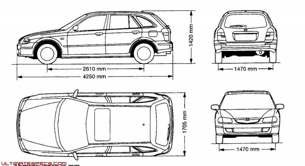 Underground Vs Eightq: Mazda 323 Sedan