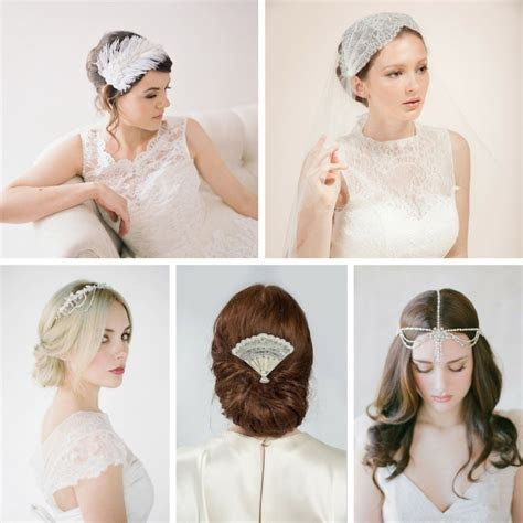 20 Fabulous Art Deco Bridal Hair Accessories : Chic