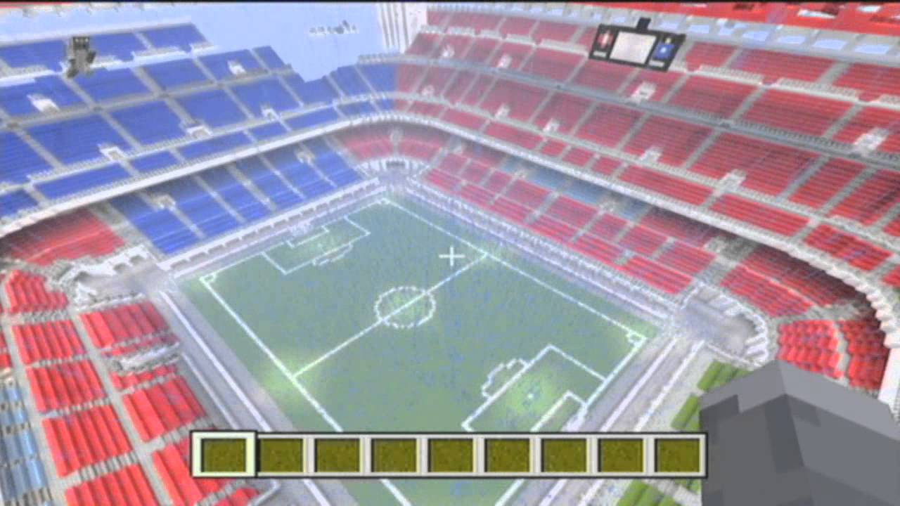 Minecraft San Siro Map Converted From Pc Xbox W
