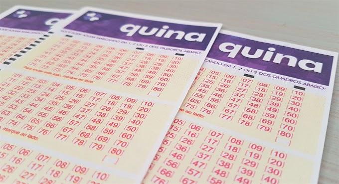 Quina 5609: prêmio acumula e vai a R$ 1,5 milhão no próximo sorteio