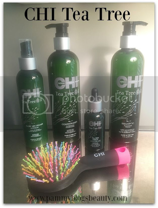 Summer Hair Love: CHI's Tea Tree Collection