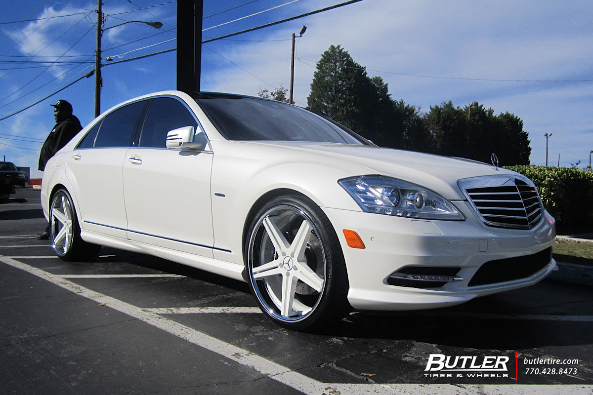 Mercedes S Class With 22in Tsw Mirabeau Wheels Exclusively From Butler Tires And Wheels In