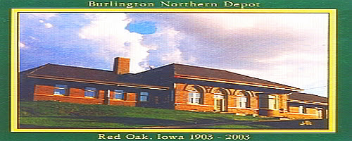 The Restored Burlington Northern Depot & WWII