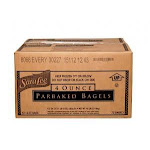 Sara Lee Par Baked Everything Topped Bagel, 4 Ounce - 72 per case.
