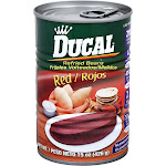 Ducal Refried Red Beans - 15oz