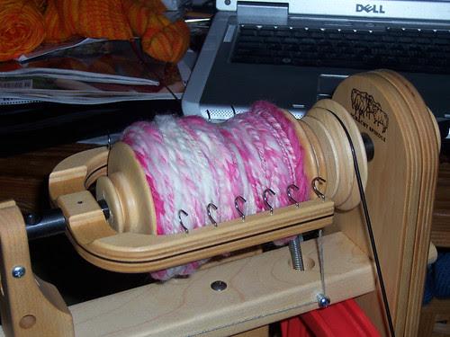 My first plied yarn