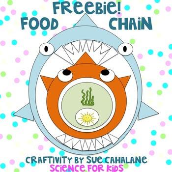 Freebie! Food Chain Craftivity
