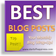 Best Blog Posts for October 2012 - The Start of HappinessBest Blog Posts for October 2012
