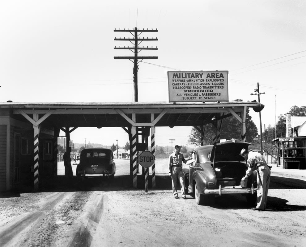 Elza Gate MP 1945 Oak Ridge Tennessee