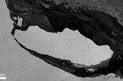 Dunia yang    Tersembunyi Terungkap setelah Gunung Es Antartika Pisah