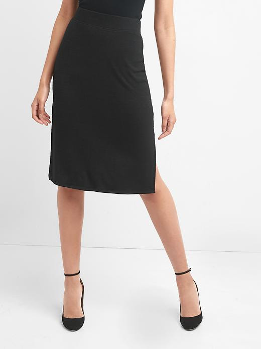 Gap Softspun Midi Skirt