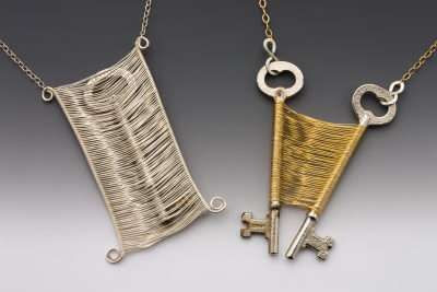 Woven key jewelry -so unique!
