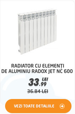 Radiator cu elementi de aluminiu Radox JET NC 600 (buc=element) la 33.99 lei