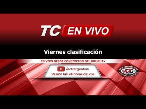 En vivo, Turismo Carretera en Concepción del Uruguay - Clasificación viernes
