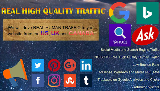 ringtaildev : I will drive high quality traffic to your website for $5 on www.fiverr.com