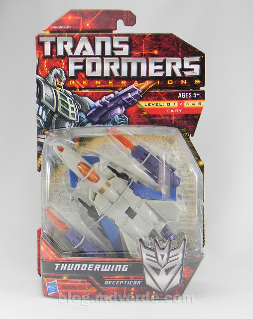 Transformers Thunderwing Generations Deluxe - caja