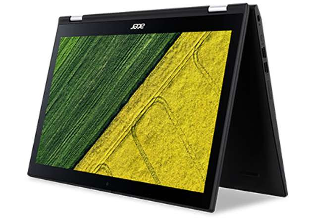 Acer Spin 3 Convertible Laptop with Full-HD Touch Display Outs in India
