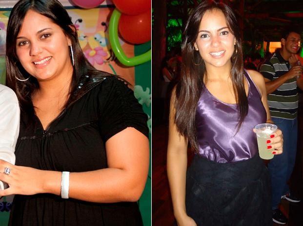 Após emagrecer, ela teve melhora na saúde e não sentiu mais dor nas articulações e nas costas (Foto: Arquivo pessoal)