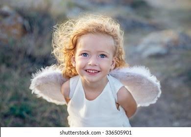 Innocent Child Stock Photo