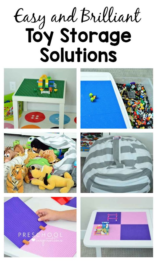 Brilliant and Easy Toy Storage and Organization Solutions - Preschool Inspirations