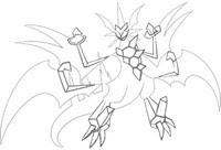 Coloring Pages Pokémon Ultra Sun And Ultra Moon Morning Kids