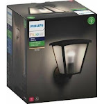 Philips Hue White Inara - Wall lamp - LED light bulb - E26 - 9.5 W - lantern - black