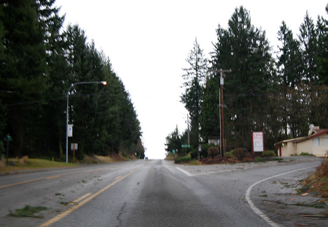 SR 166 east of Port Orchard