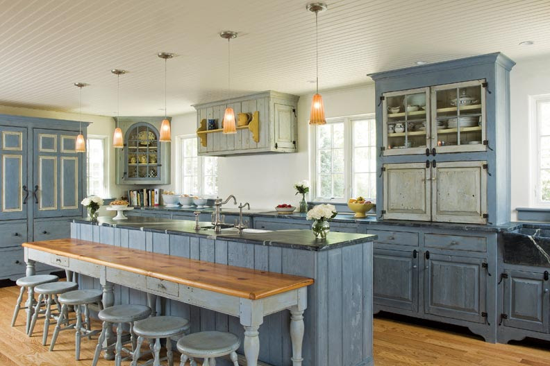 Traditional Trades: Period Kitchen Cabinets - Old-House ...