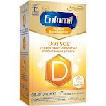 Enfamil D-Vi-Sol Vitamin D Supplement Drops for Infants 50 mL dropper bottle