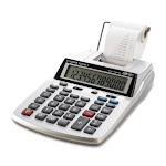 Canon P23-DH V 2 color mini-Desktop Printing Calculator - Unlimited Cellular