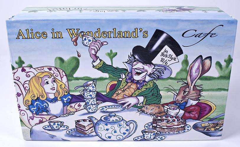 Le Chat Noir Boutique Alice In Wonderland Cafe Tea Set Paul Cardew