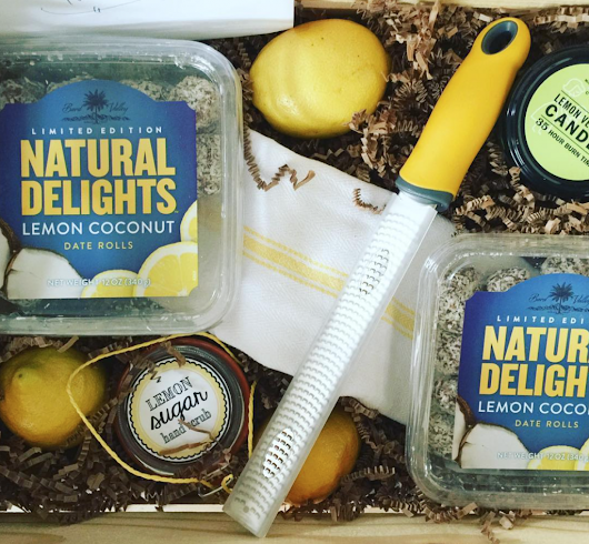 Natural Delights Lemon Coconut Date Rolls Giveaway for Ramadan