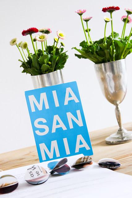 MIA SAN MIA Card from Bavaria