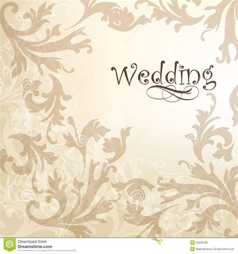 Wedding Elegant Background For Design Royalty Free Stock