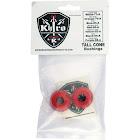 Khiro Tall Cone Medium Soft Red Skateboard Bushings - 90A
