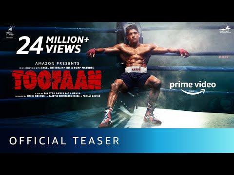 Toofaan - Official Teaser 2021 | Farhan Akhtar, Mrunal Thakur, Paresh Rawal