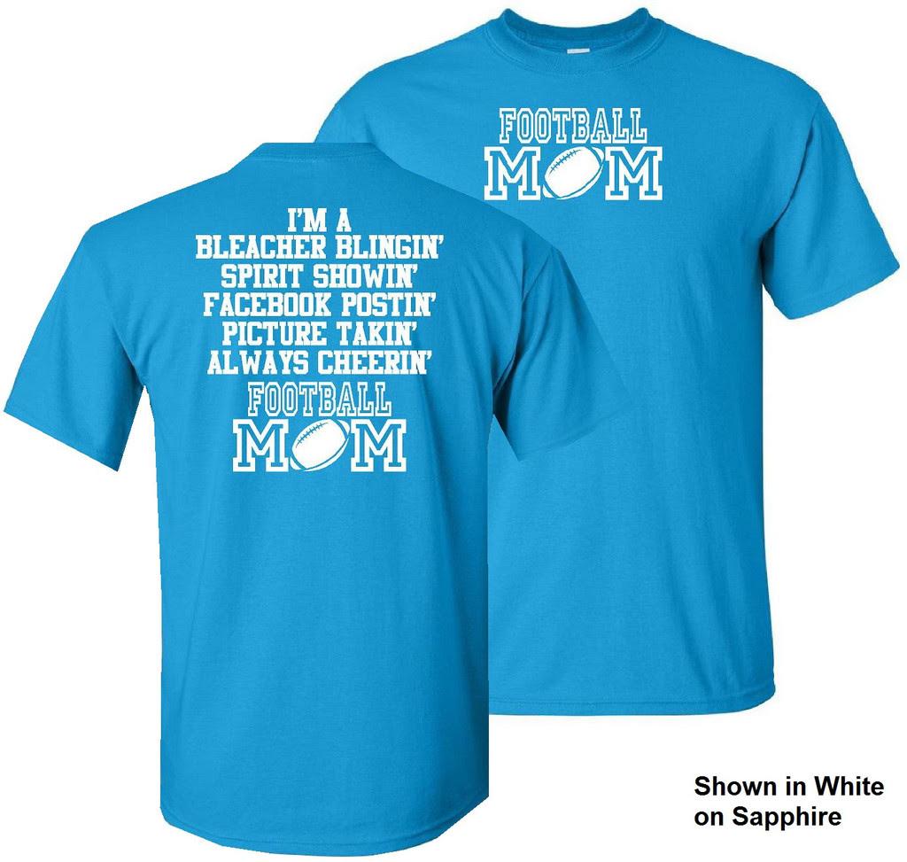 Football Mom Shirt Quotes. QuotesGram