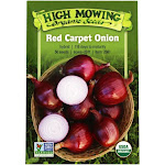 High Mowing Organic Seeds - Red Carpet Onion Seeds - 1 Packet