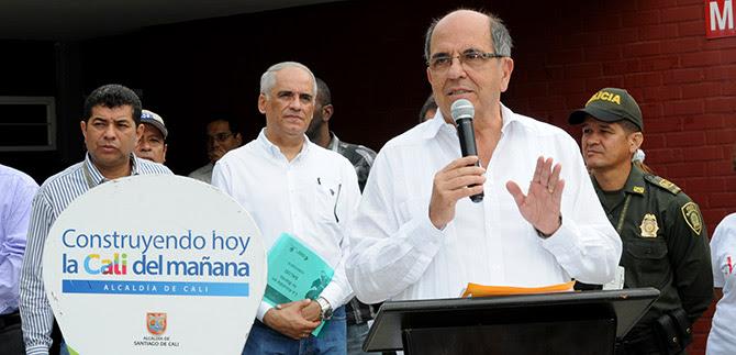 Alcalde Guerrero mostró inversión social en la comuna 21, por $45.000 millones