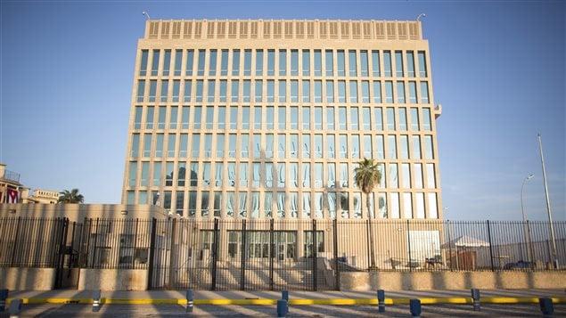 Ambassade américaine à La Havane, à Cuba