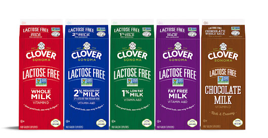 Clover Sonoma Launches Nation's First Non-GMO Project Verified Lactose-Free Milk